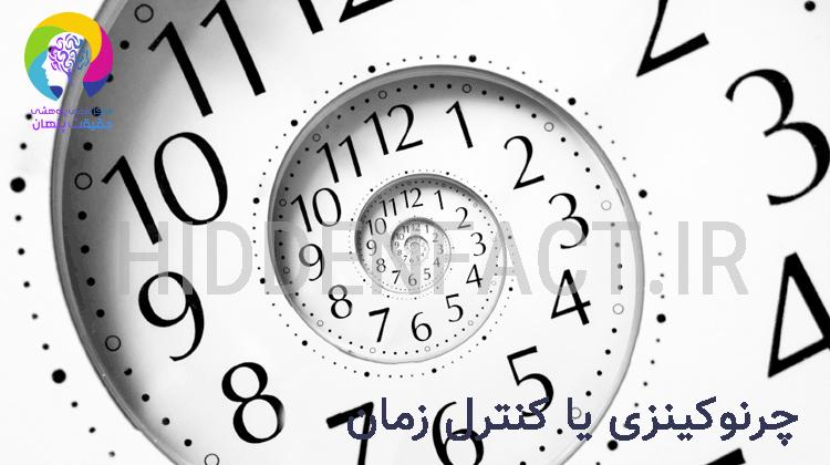 چرونوکینزی یا کنترل زمان به وسیله نیرو و قدرت ذهن و کینزی
